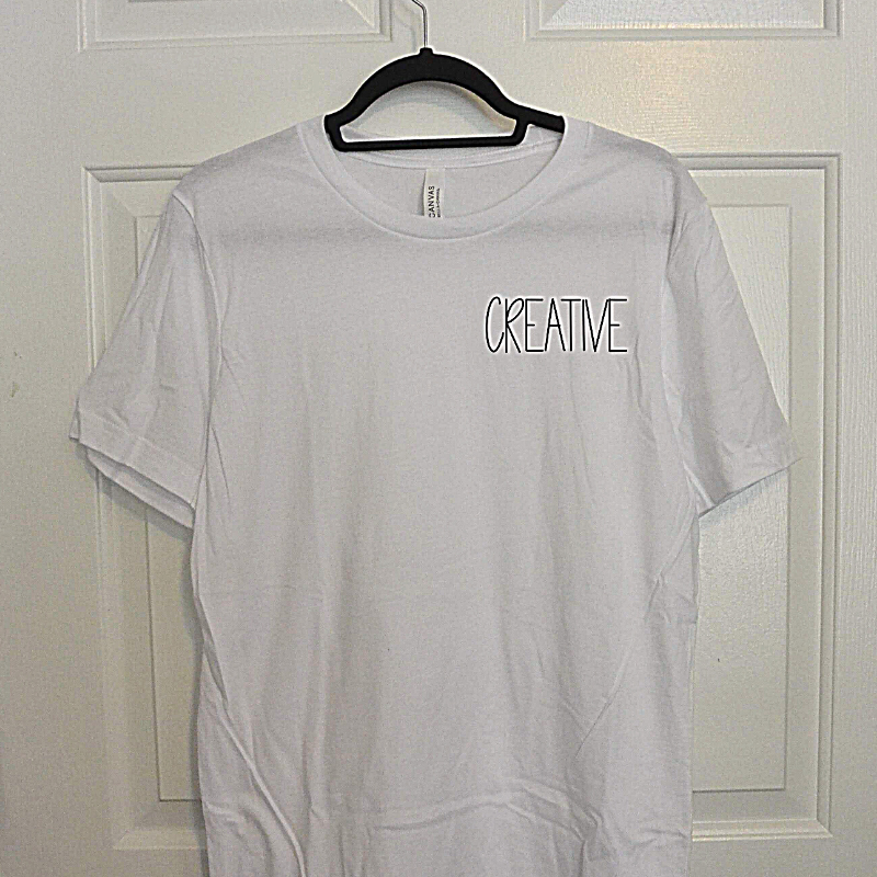 CREATIVE | 100% Cotton Tee
