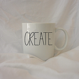 CREATE | 12 oz Coffee Mug