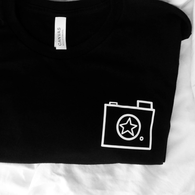 Camera Shot | 100% Cotton Tee