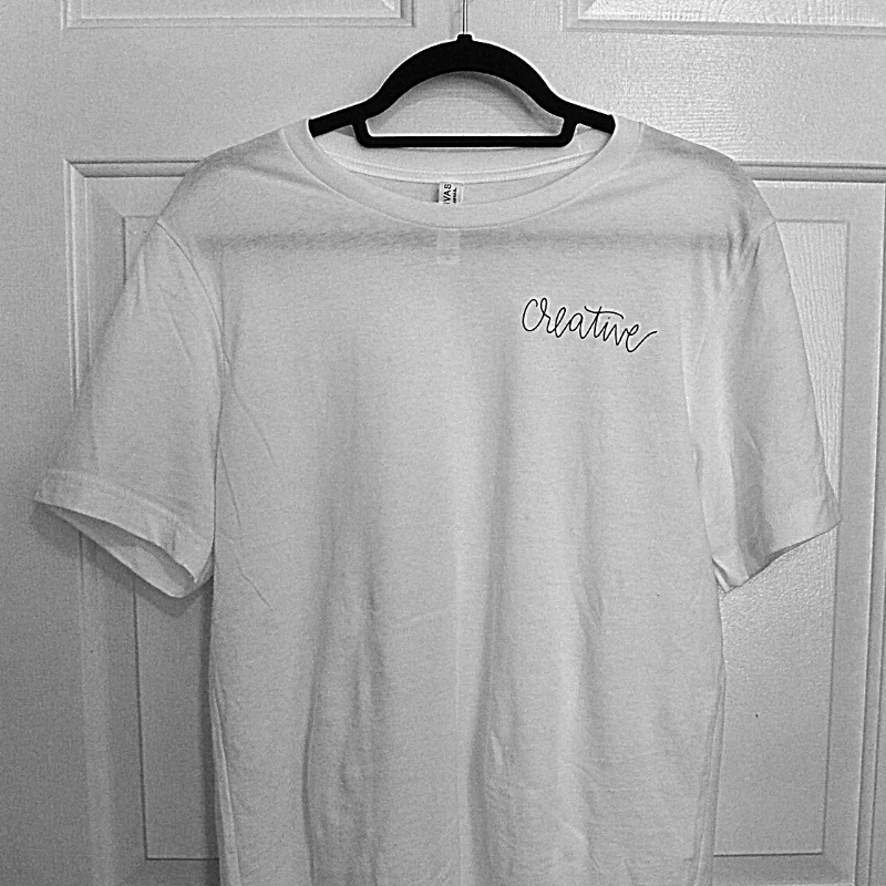 The Creative | 100% Cotton Tee