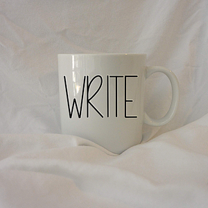 WRITE | 12 oz Coffee Mug