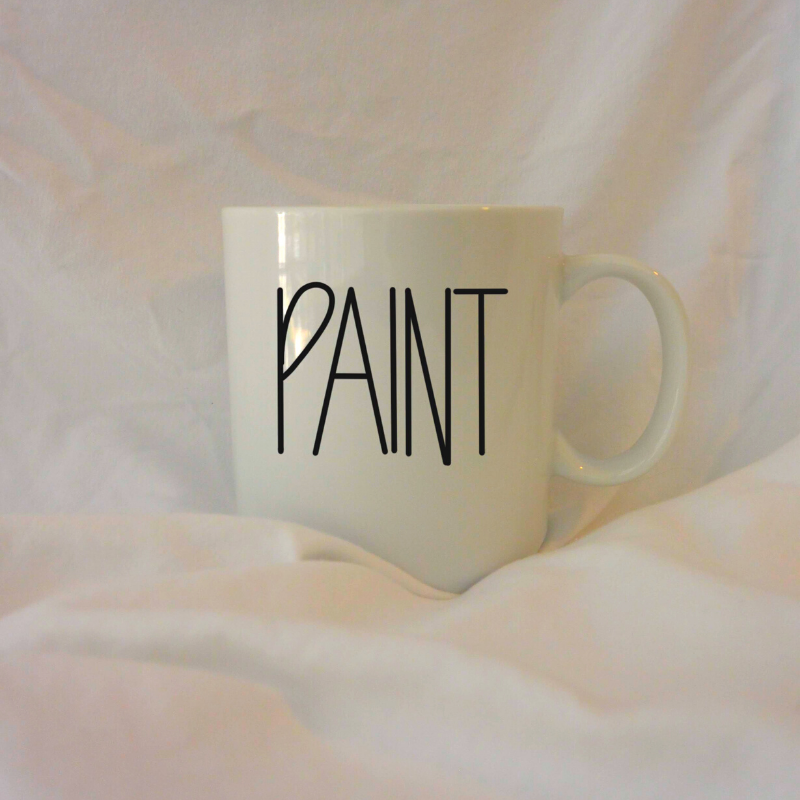 PAINT | 12 oz Coffee Mug