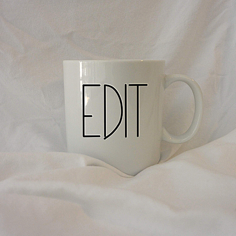 EDIT | 12 oz Coffee Mug
