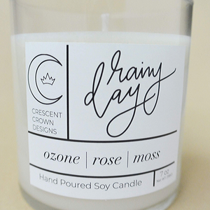 Rainy Day | 7 oz Soy Wax Candle