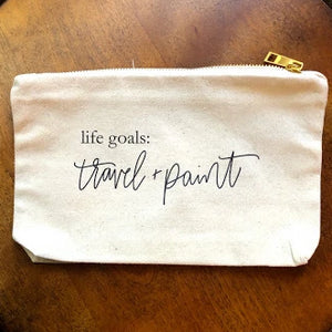 Travel and Paint | Canvas Art Supplies Bag