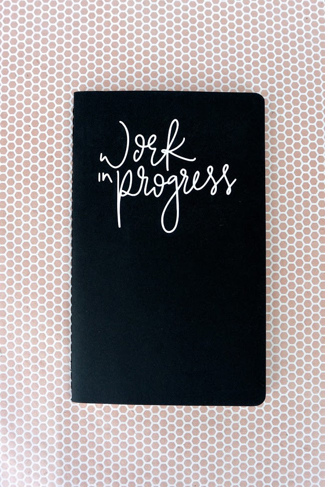 Work In Progress | Lined Notebook