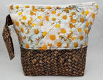 Basket of Daisies - Project Bag - Small - Crafting My Chaos