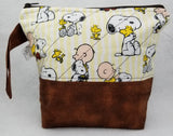 Charlie Brown & Snoopy - Project Bag - Small - Crafting My Chaos