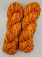Tequila Sunrise - Variegated Merlin 100 - Crafting My Chaos