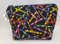 Crayons - Notions Bag - Crafting My Chaos