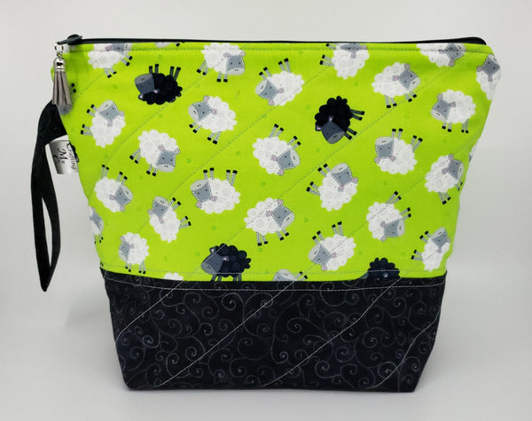 Baa Baa Black Sheep - Project Bag - Medium
