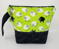 Baa Baa Black Sheep - Project Bag - Small