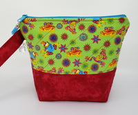Fancy Frogs - Project Bag - Small