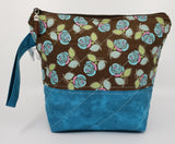 Brown Roses - Project Bag - Small