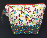 Christmas Lights - Project Bag - Medium