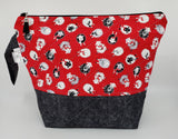 Knitting Sheep -  Project Bag - Medium
