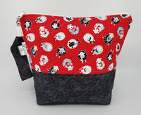 Knitting Sheep - Project Bag - Small
