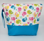 Blue Birds -  Project Bag - Medium