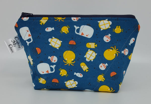 Sea Creatures - Notions Bag