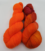 Yarn Kit - Scarlett's Sunset/Safety Orange