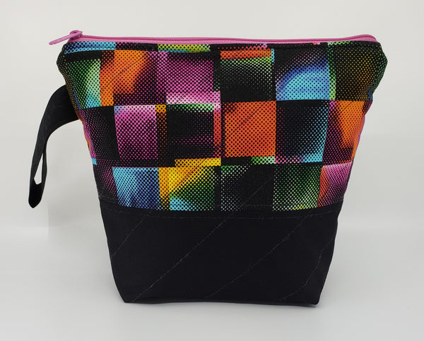 Psychedelic Squares - Project Bag - Small