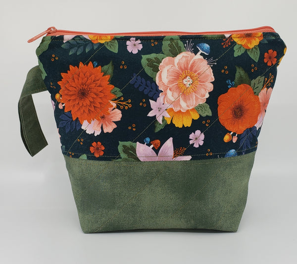 Fall Flowers - Project Bag - Small