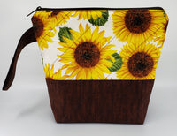 Sunflowers - Project Bag - Small