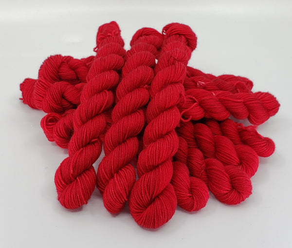 Ruby Red - Tonal Sock Mini 20