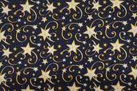 A Holiday - Stars Navy - Handmade Mask
