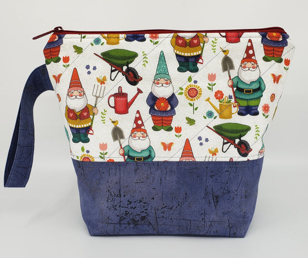 Garden Gnomes - Project Bag - Small