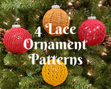 Chaos Ornament Sleeves - Lace - Knit