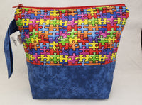 Autism Awareness - Project Bag - Small - Crafting My Chaos