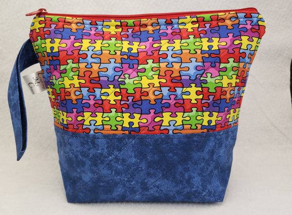 Autism Awareness - Project Bag - Small