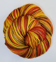 6 Autumn Pleasure - Self-Striping - MS Sock 100 - Crafting My Chaos