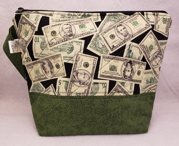 Bag O Dollars - Project Bag - Medium - Crafting My Chaos