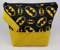 Batman - Project Bag - Small - Crafting My Chaos