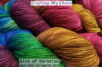 Bird of Paradise - Variegated Merlin 100 - Crafting My Chaos