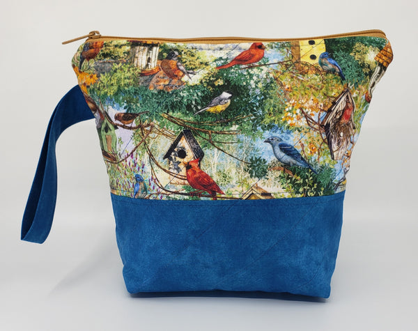 Birds of a Feather - Project Bag - Small
