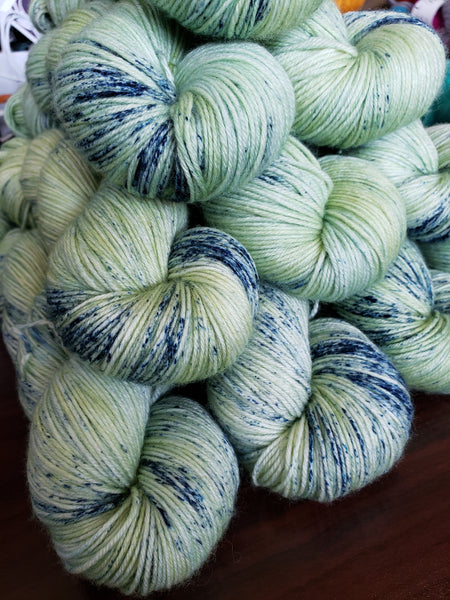 Blueberry Explosion - Speckle - MS Sock 100