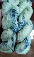 Blueberry Explosion - Speckle - MS Sock 100 - Crafting My Chaos