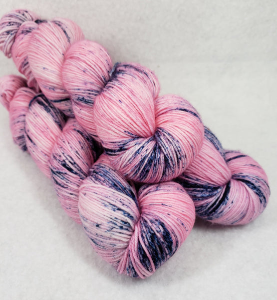 Blueberry Splash - Speckle - MS Sock 100
