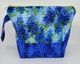 Bluebonnets - Project Bag - Medium