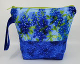 Bluebonnets - Project Bag - Small