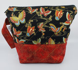 Ornate Butterflies - Project Bag - Small