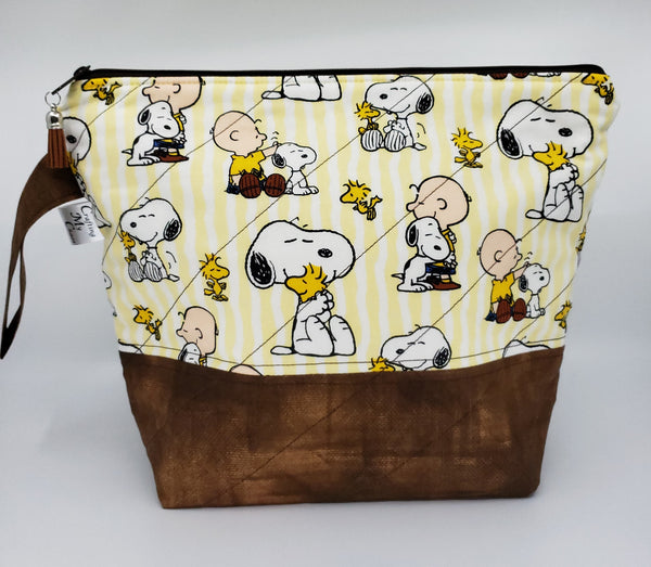 Charlie Brown & Snoopy - Project Bag - Medium