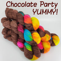 Chocolate Party - MS Sock 100