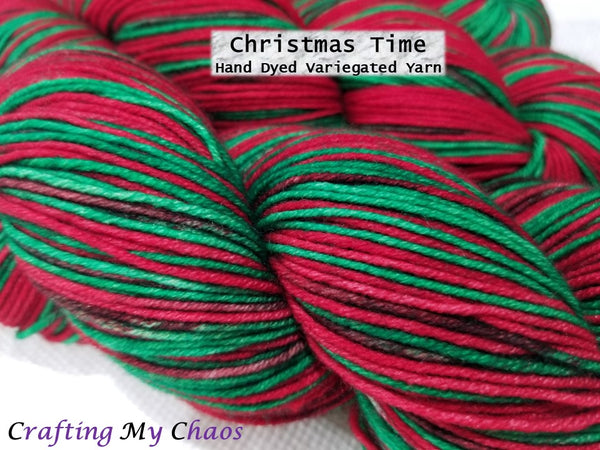Christmas Time - Variegated Merlin 100 - Crafting My Chaos