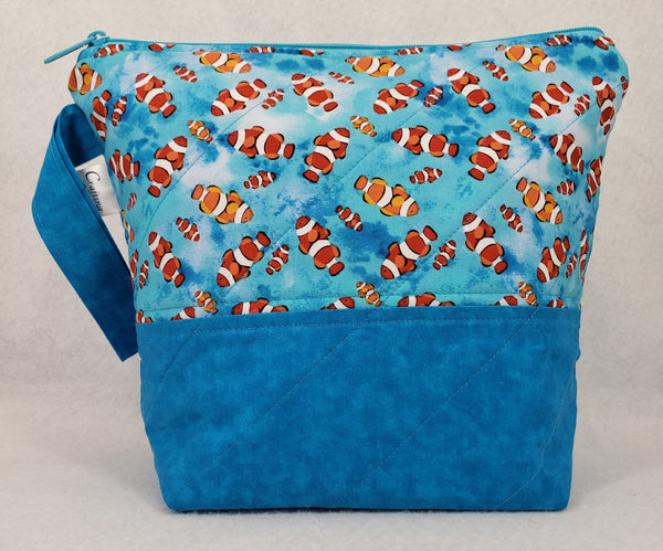 Clown Fish - Project Bag - Small - Crafting My Chaos