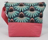 Coneflowers  - Project Bag - Small - Crafting My Chaos