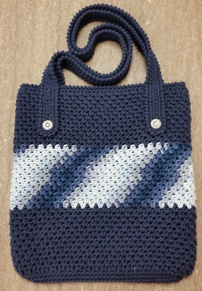 Everyday Bag - Cotton - Crochet